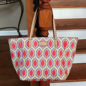 ♠️Kate Spade Moroccan Leather tote♠️